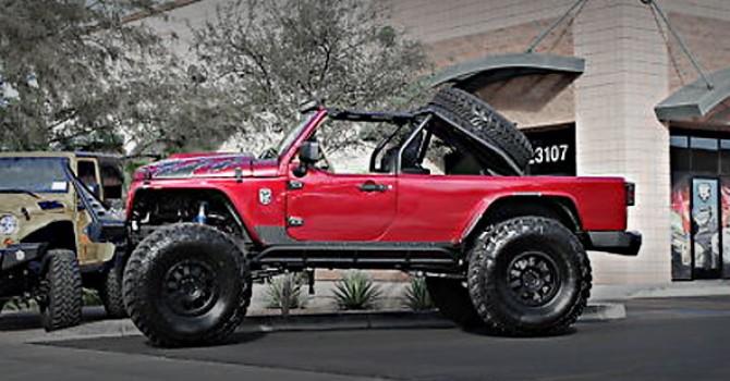 2008 Custom Jeep Truck