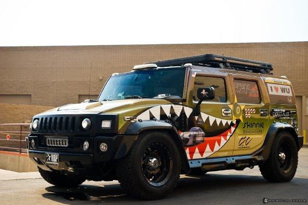 Hummer H on Aluminum Fuel Tanks Diesel