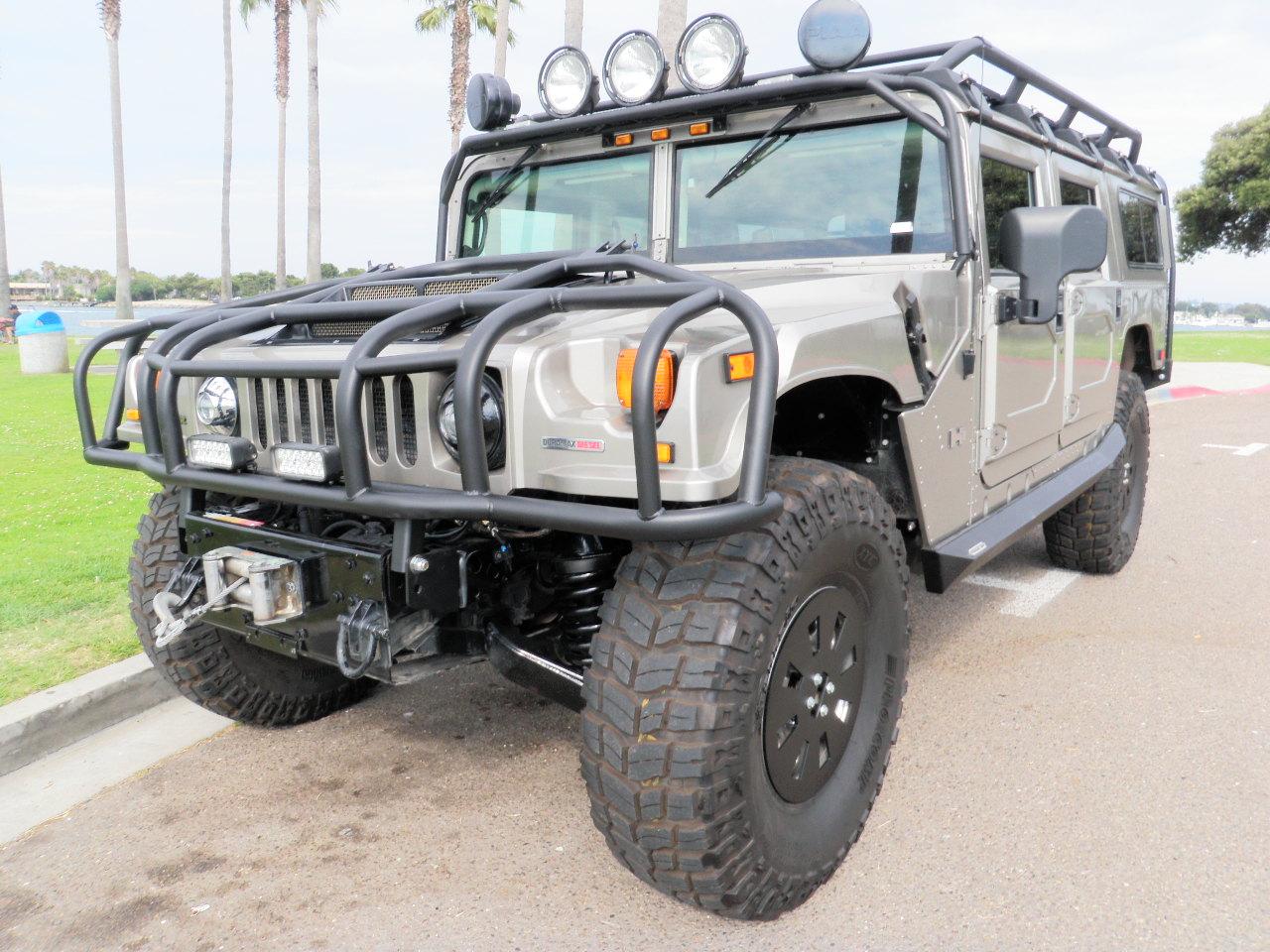 2006 Predator Hummer H1 Alpha Search And Rescue Wagon 9k
