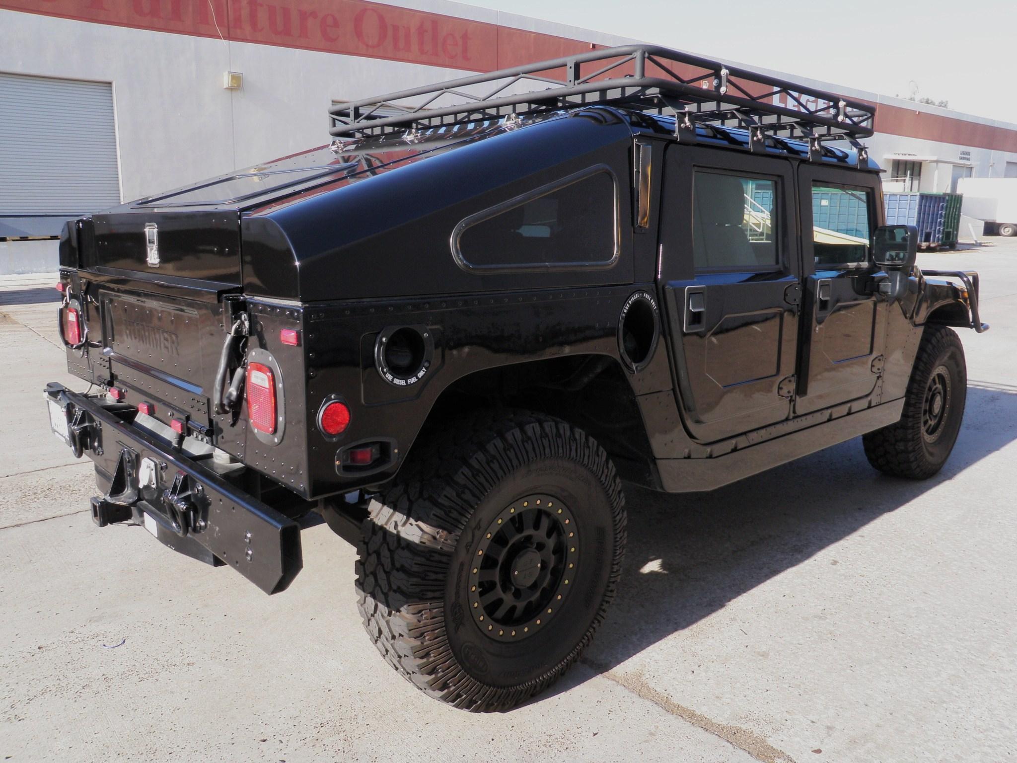 2001 Hummer H1 Hardtop W Slantback Shell Rare 1 71 Sold