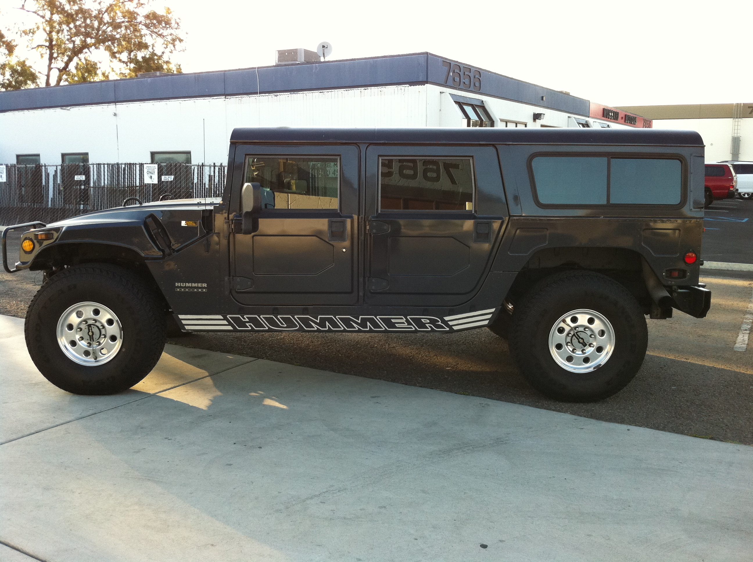 1999 Hummer H1 Rare 1 Of 27 Night Storm Wagons Ever