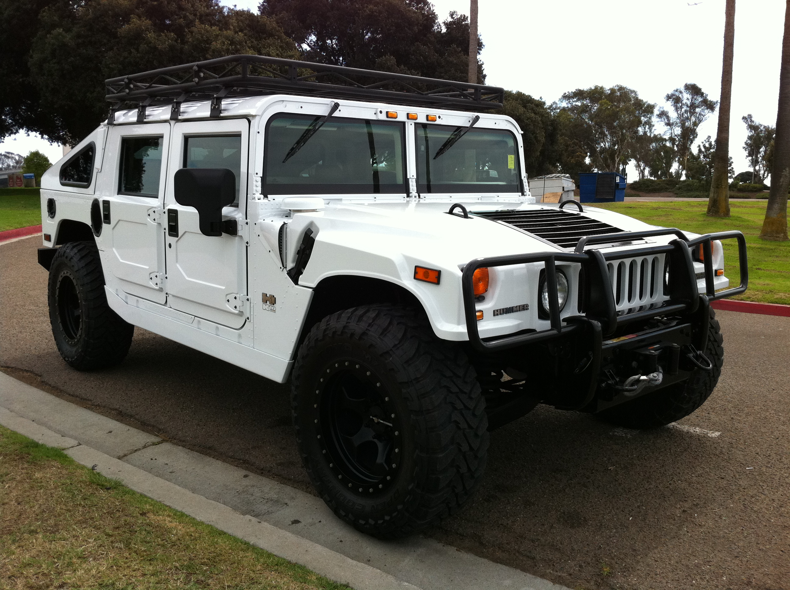 2006 Hummer H1 4 Door Hardtop Ksc4 With Slantback Shell 1