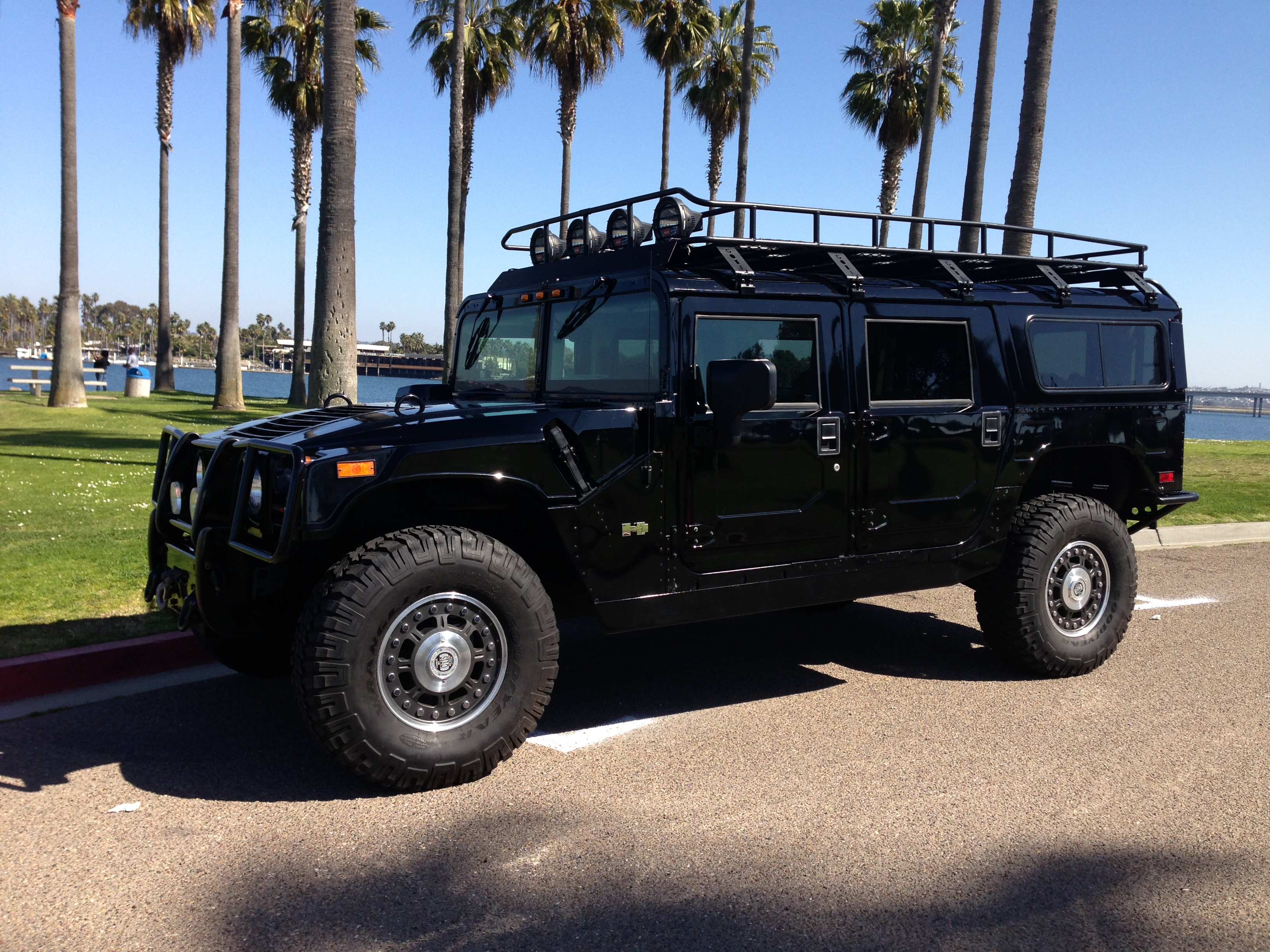 9 hummer h9 alpha wagon 9nd generation all black with all ... | all black hummer