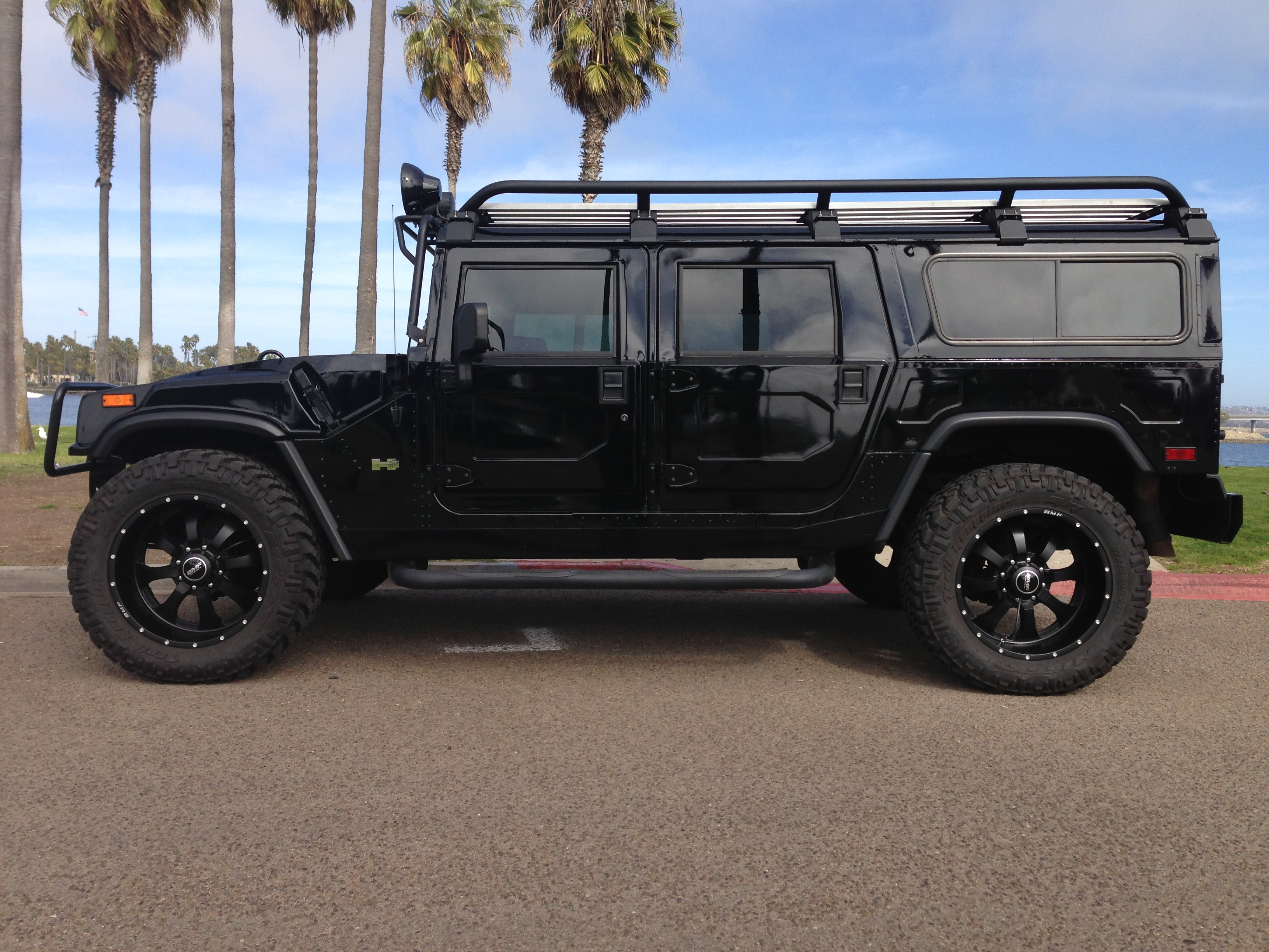 9 hummer h9 alpha wagon 9nd generation black with all ... | all black hummer