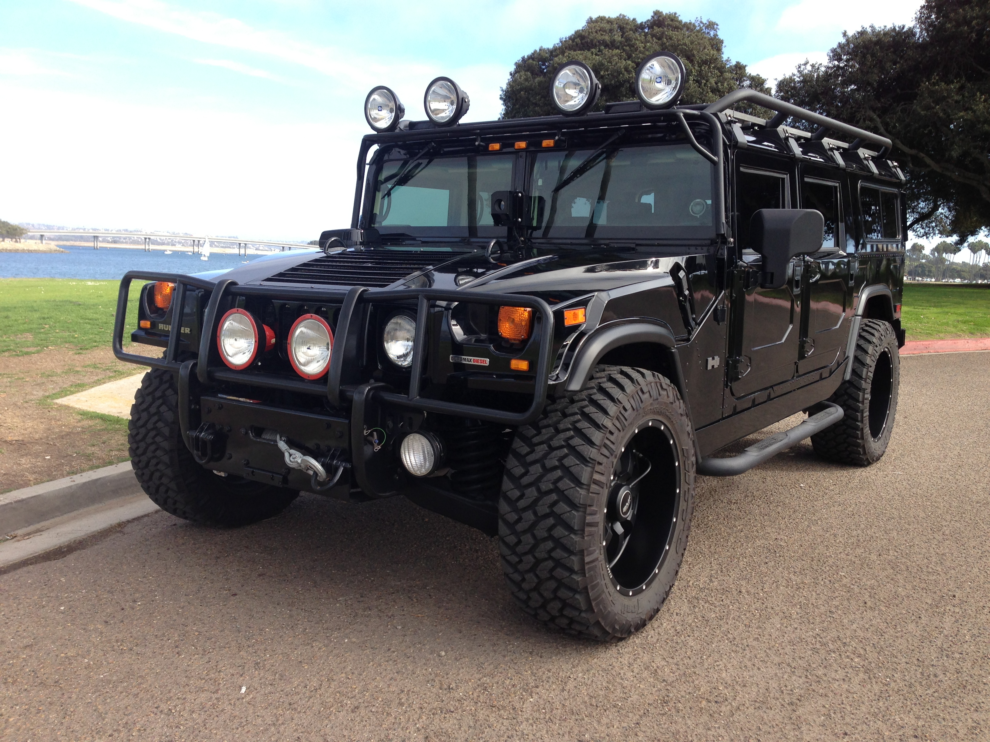 2006 Hummer H1 Alpha Wagon 2nd Generation Black With All