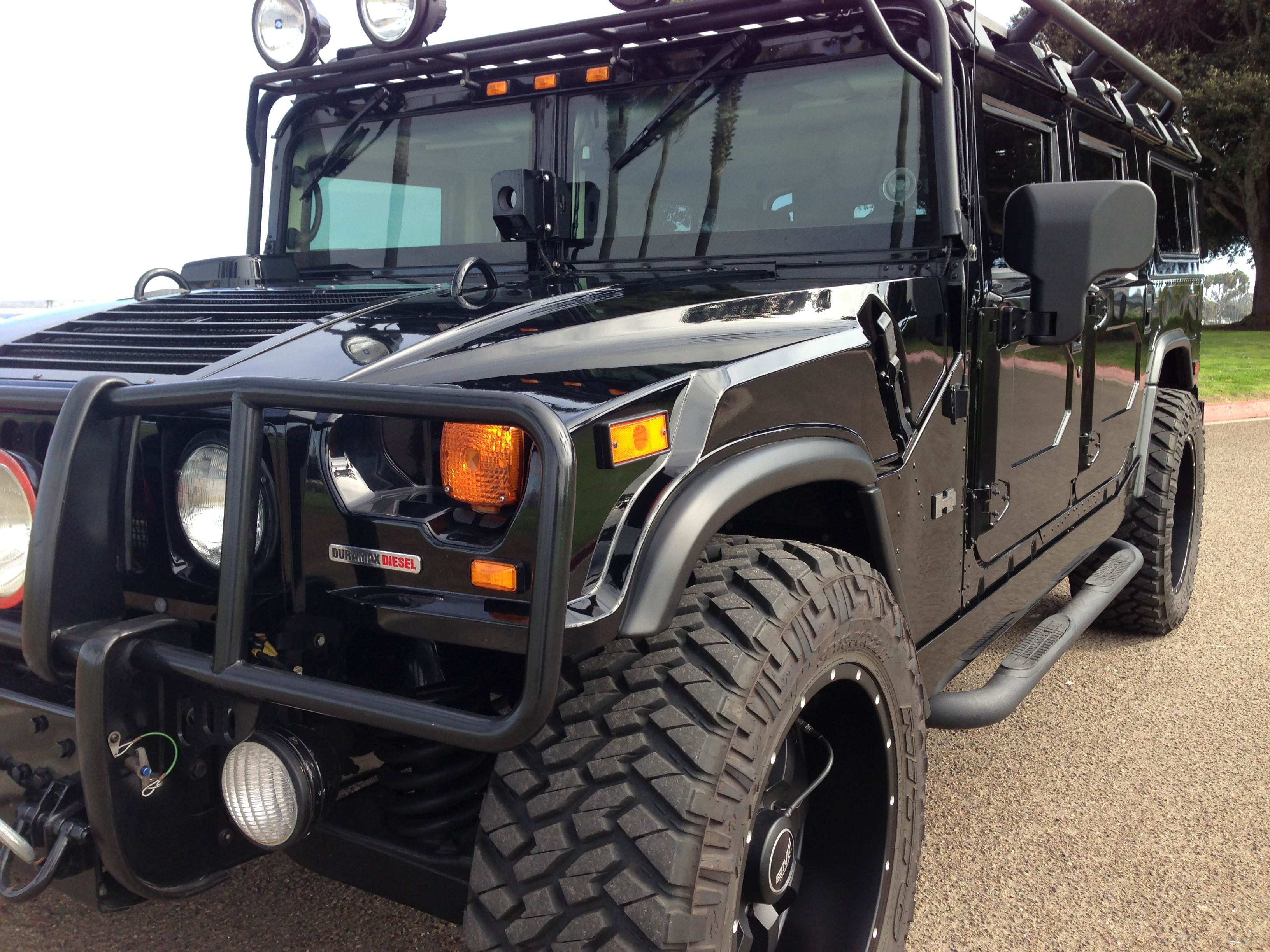 2006 hummer h1 alpha wagon 2nd generation black with all black ...