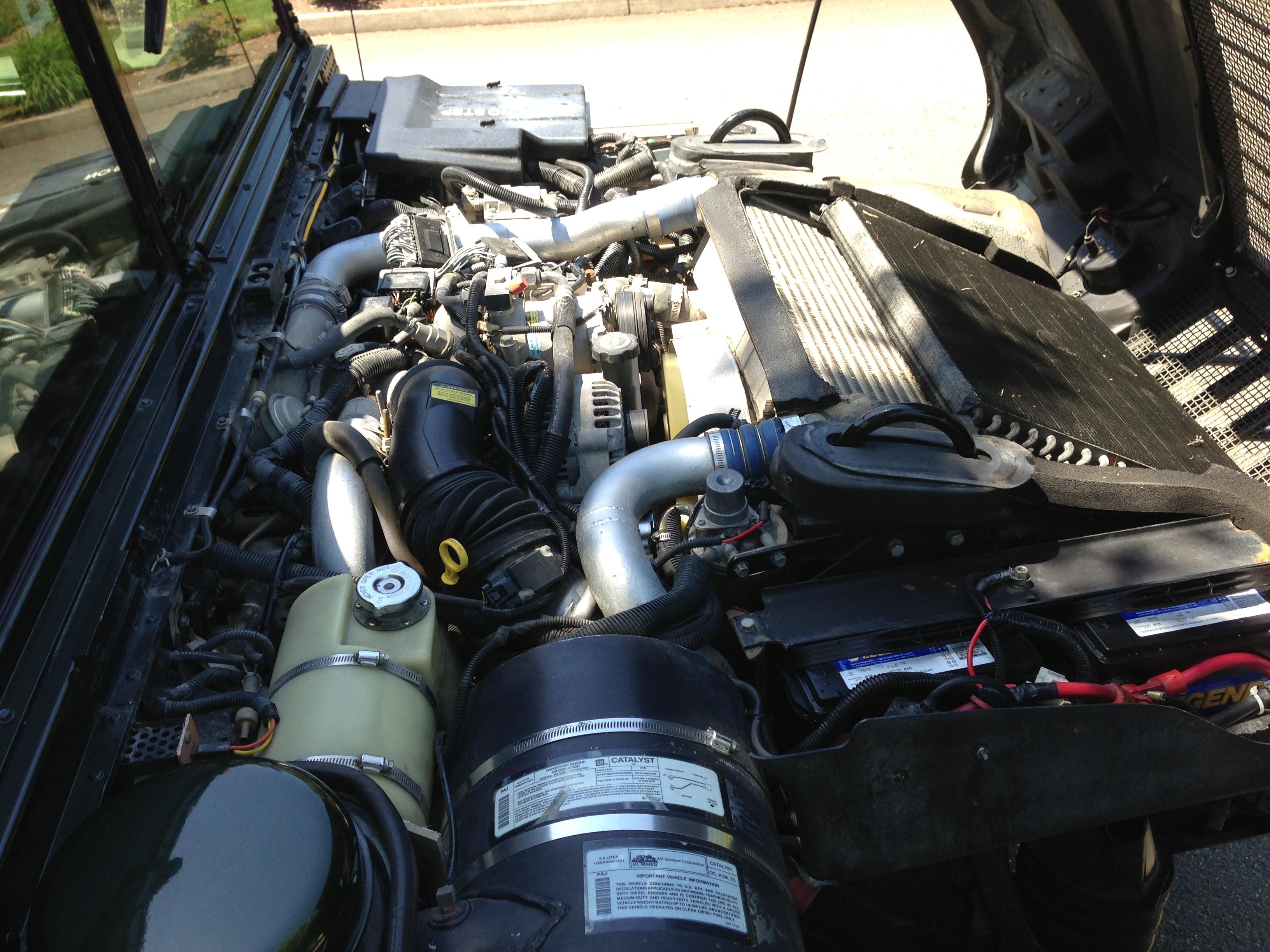 12k In Miles >> rare 1 of 1 2001 hummer h1hmc4 slant back duramax turbo ...