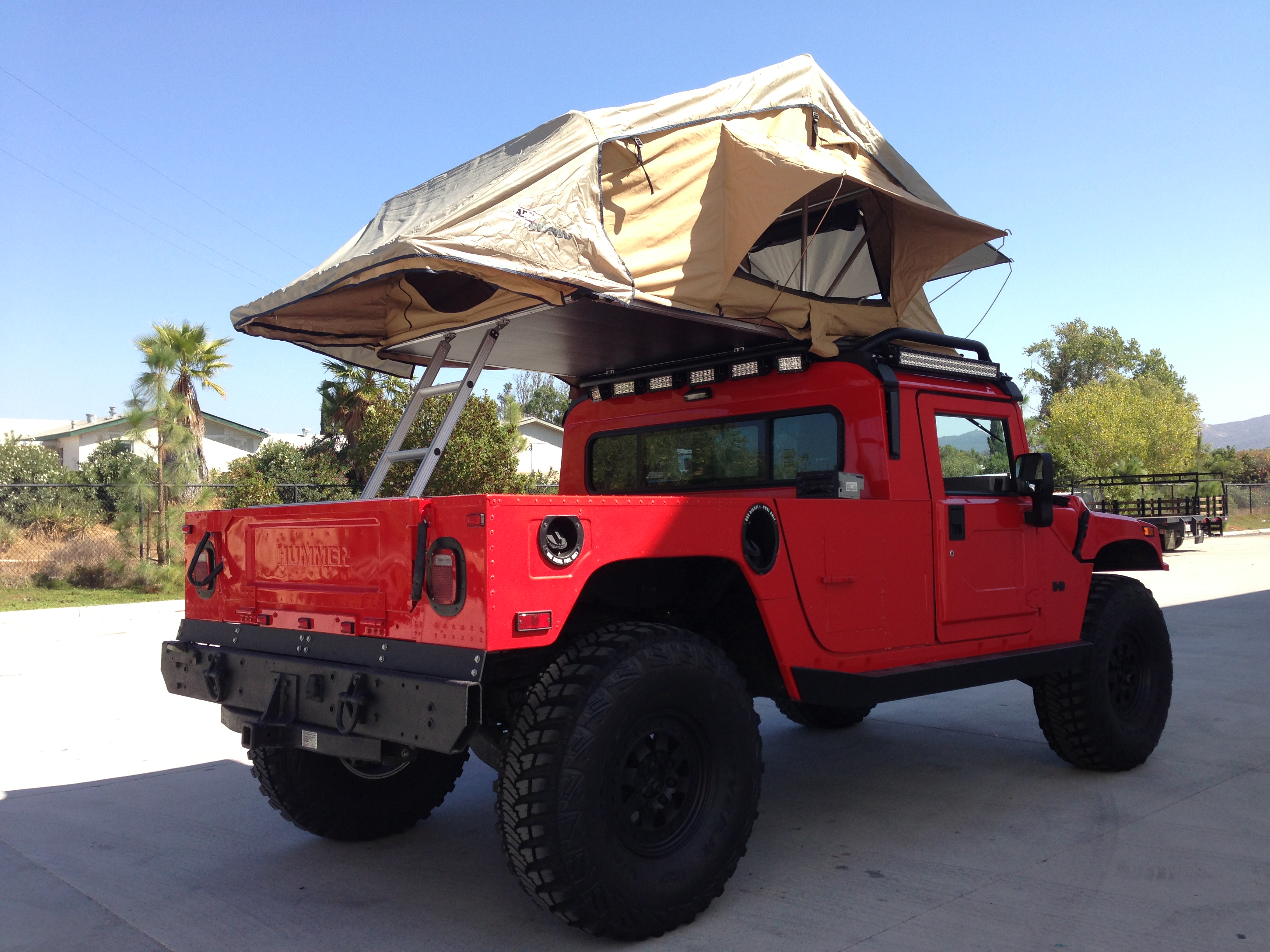 2003 Hummer H1 Search And Rescue Overland Series Rare 2