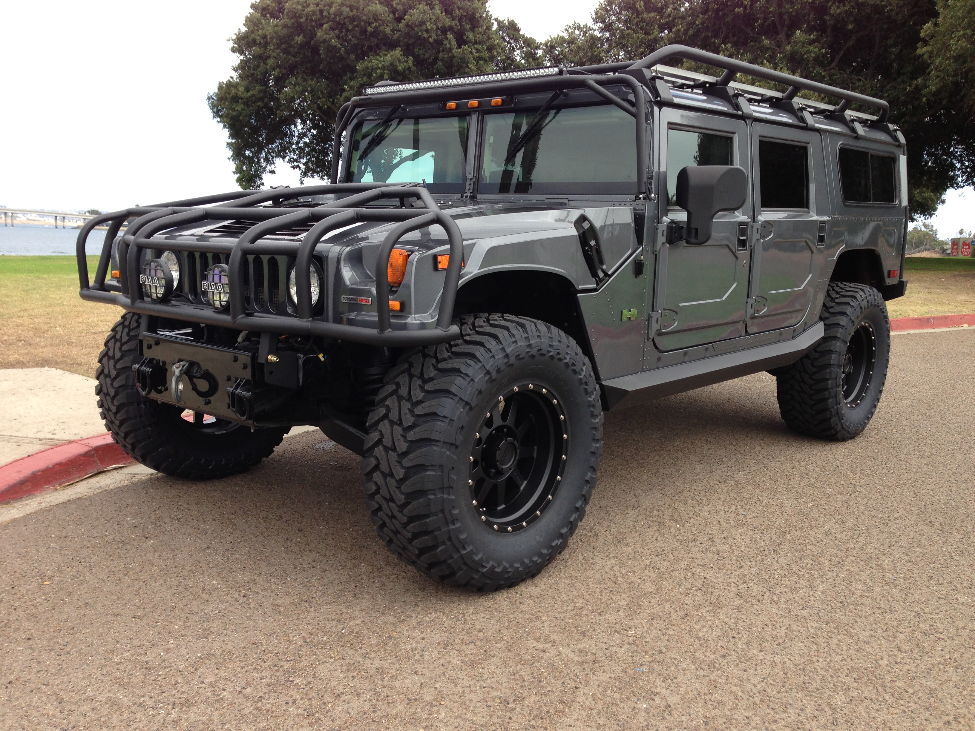 2006 hummer h1 alpha search and rescue edition………sold