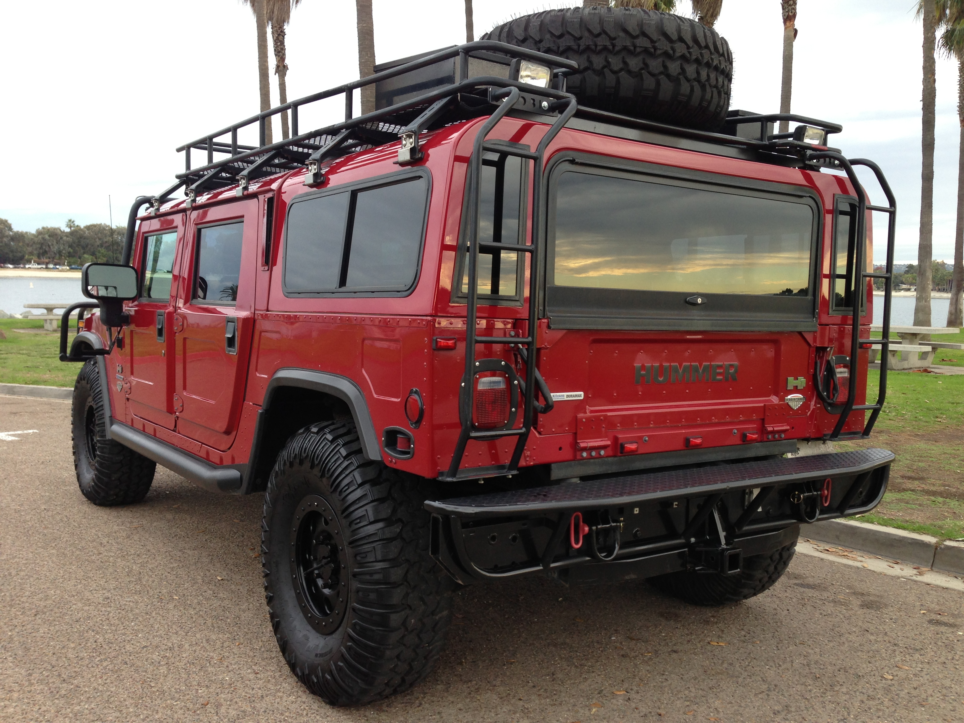 Sold Hummer H1 Alpha Interceptor Duramax Turbo Diesel