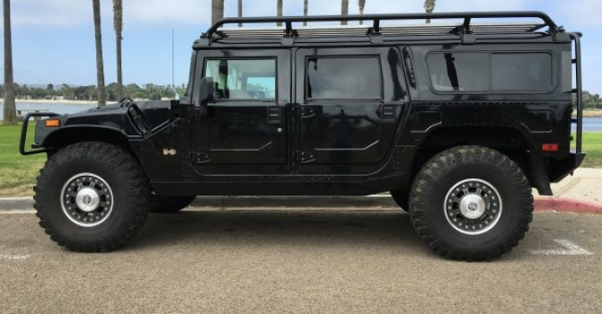 "For sale : 2006 Hummer H1 Alpha ""Search and Rescue edition"""