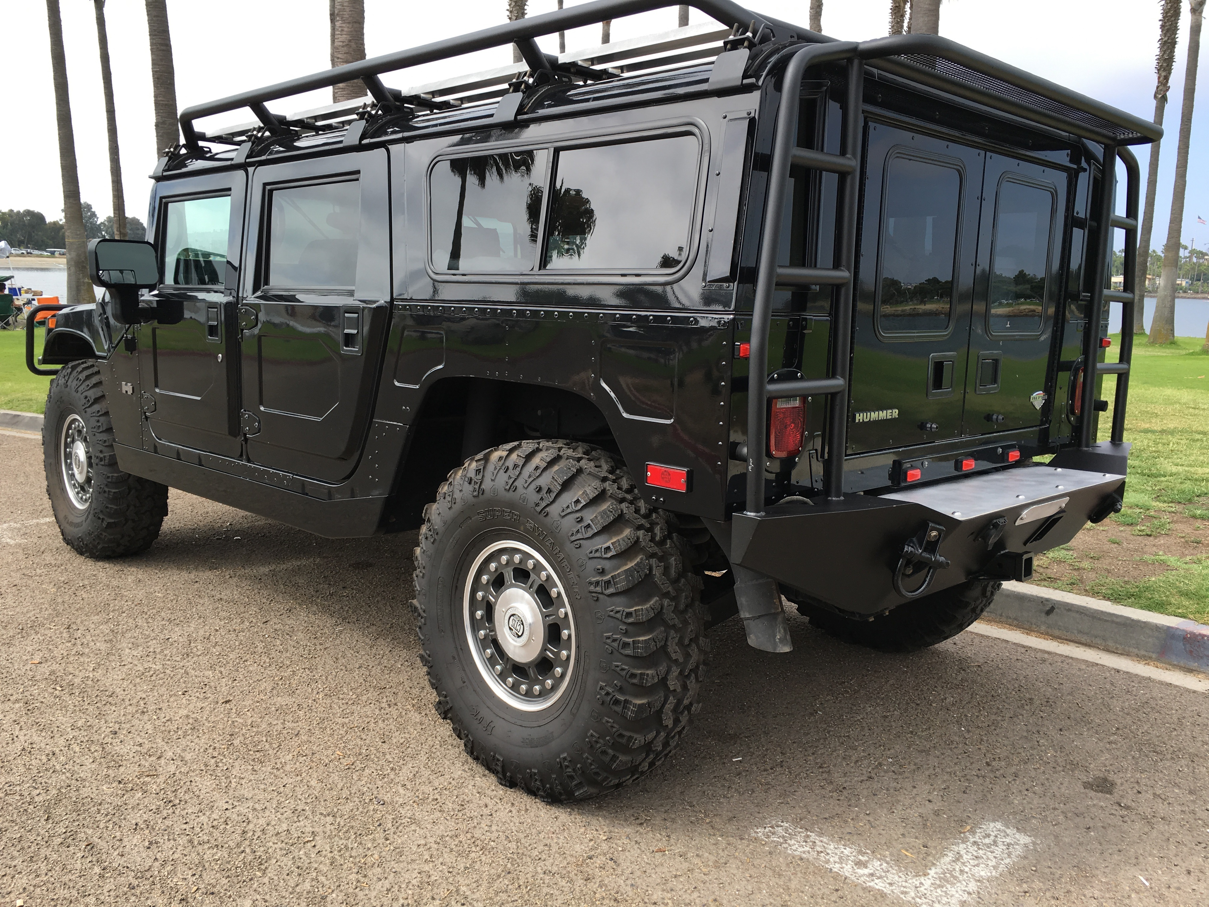 "Roof Rack Ladder >> For sale : 2006 Hummer H1 Alpha ""Search and Rescue edition"""