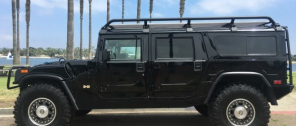 "2006 Hummer H1 ""Search and Rescue Edition""  Alpha wagon low miles"
