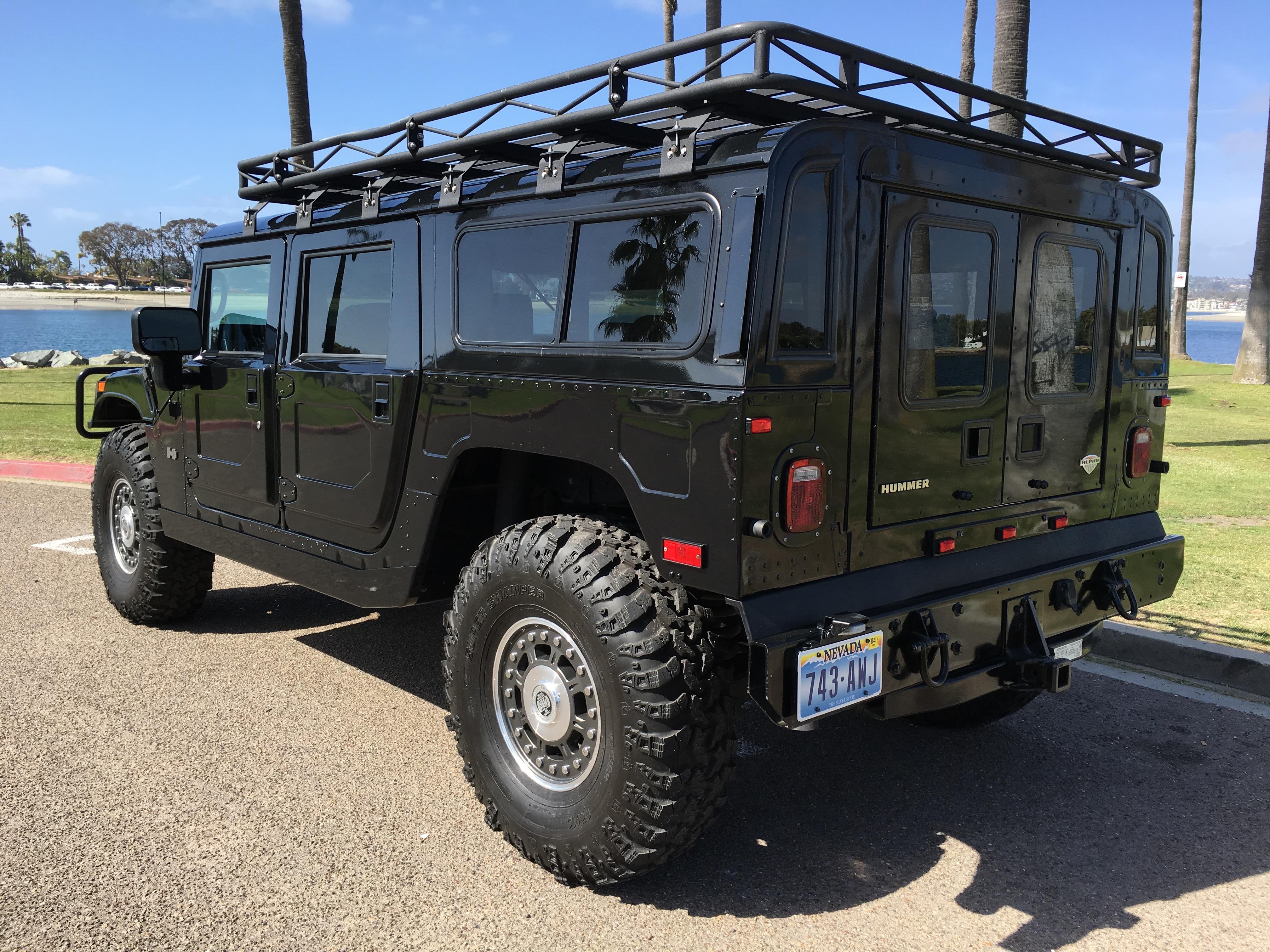 Hummers For Sale >> For sale : 2006 Hummer H1 Alpha black wagon