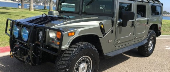 sold……..2006 Hummer H1 Alpha 2nd gen 1 of 13 mystic green 10/10 clean low miles