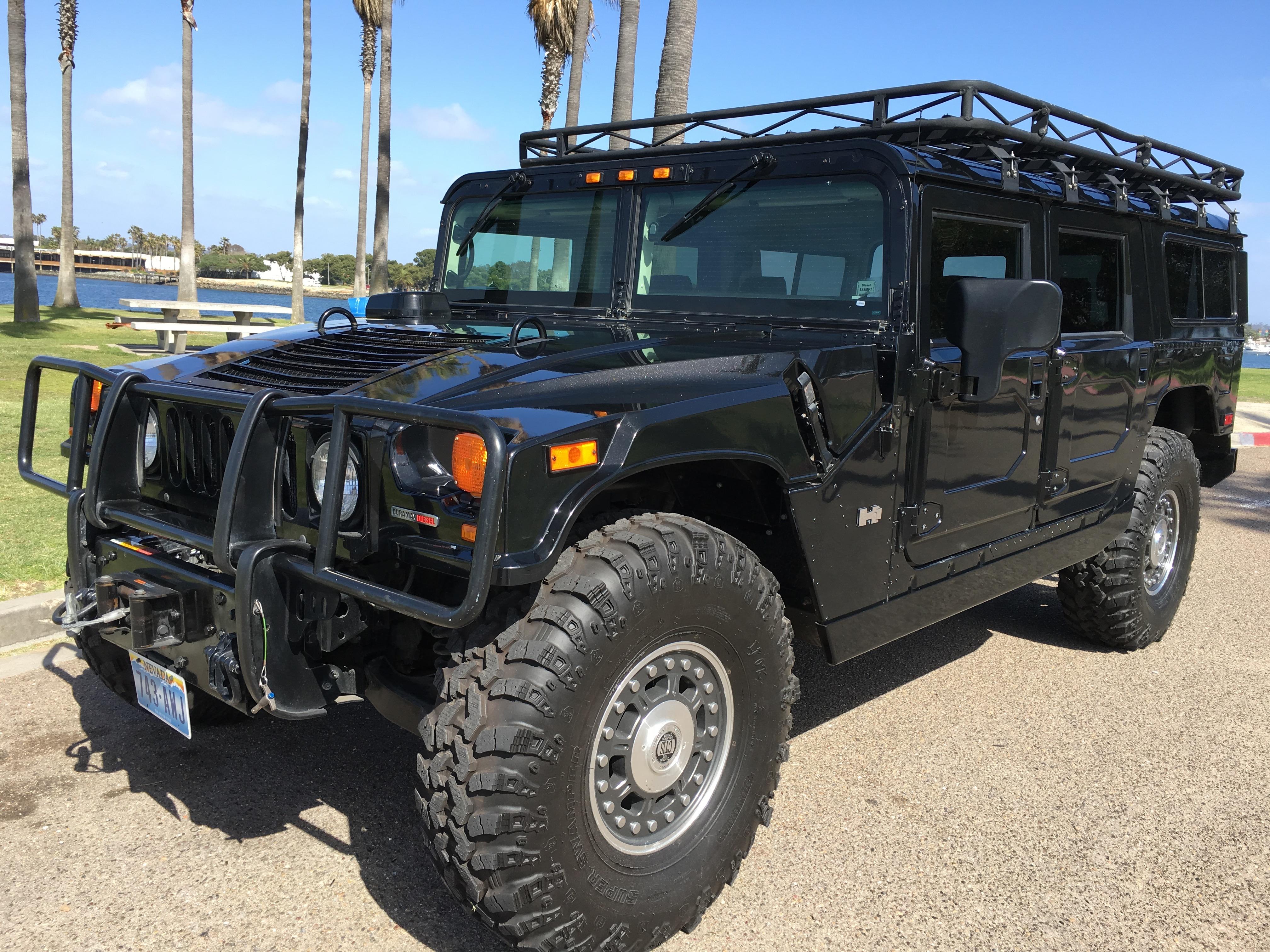 For Sale 2006 Hummer H1 Alpha Black Wagon