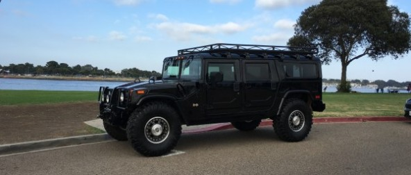 2006 Hummer H1 black Alpha wagon low miles
