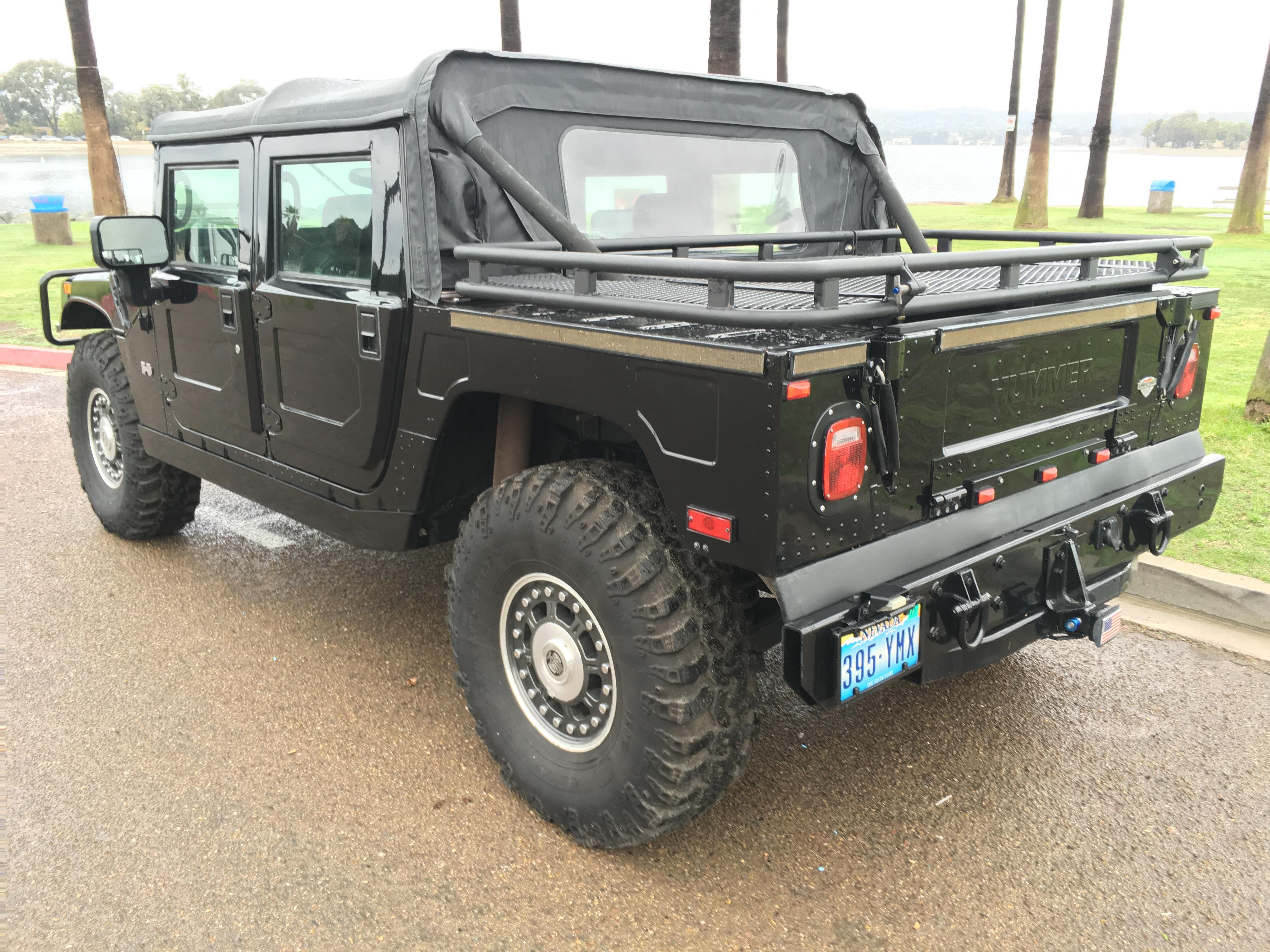 2006 Custom Hummer H1 Alpha Open Top Loaded Sold